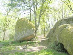 Le rocher de Puychaud